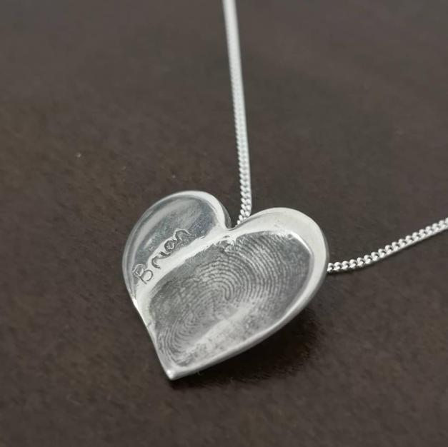 Memorial Fingerprint Jewellery