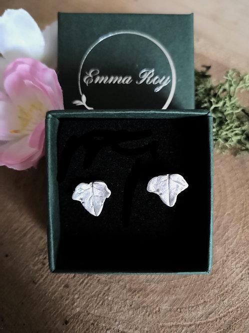 Ivy Leaf Stud Earrings