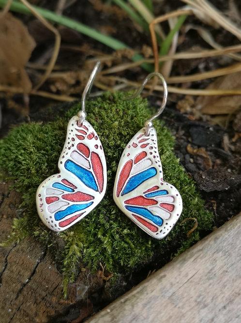 Bespoke Flutterby Fairy wing Earrings