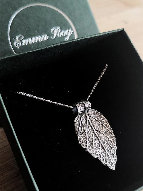 Real Leaf Necklace