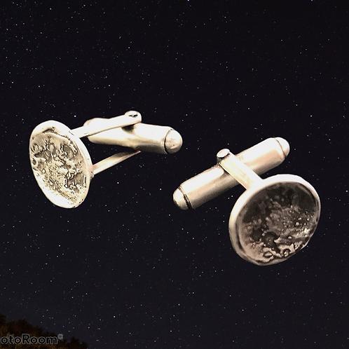 Silver Moon Cufflinks