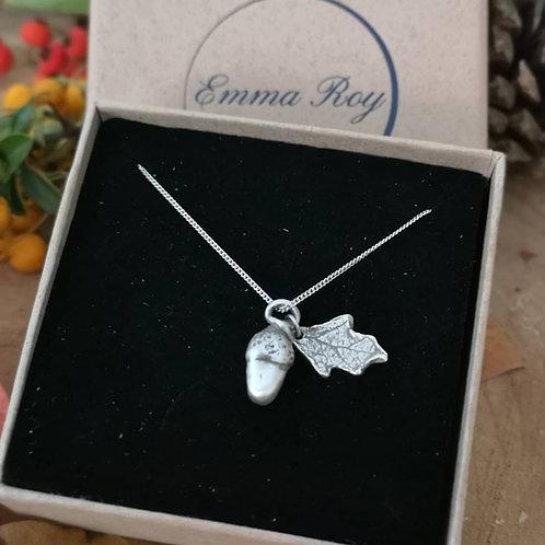 Little Acorn Necklace