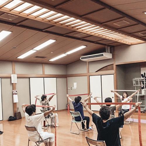 Chair yoga  (長浜北商工会 ゲスト講師)