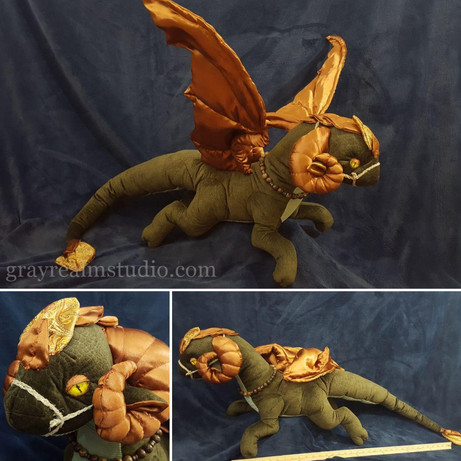 Fen Dragon Plush