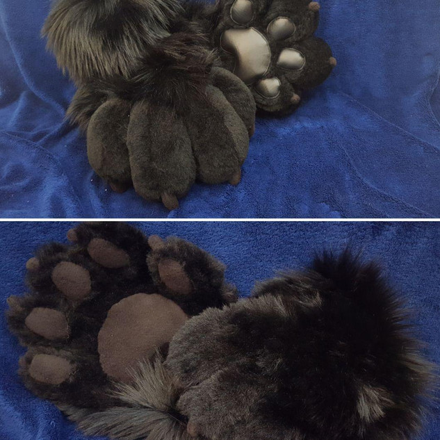Hand and feet paws