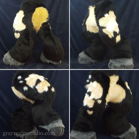 Plushy Digitigrade Legs (Vol .2)