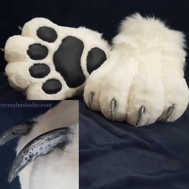 Abraxas feet paws(White)