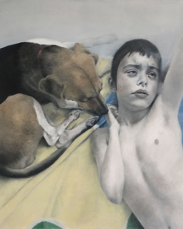1.Martin-Deborah-Buhdda-with-Service-Dog