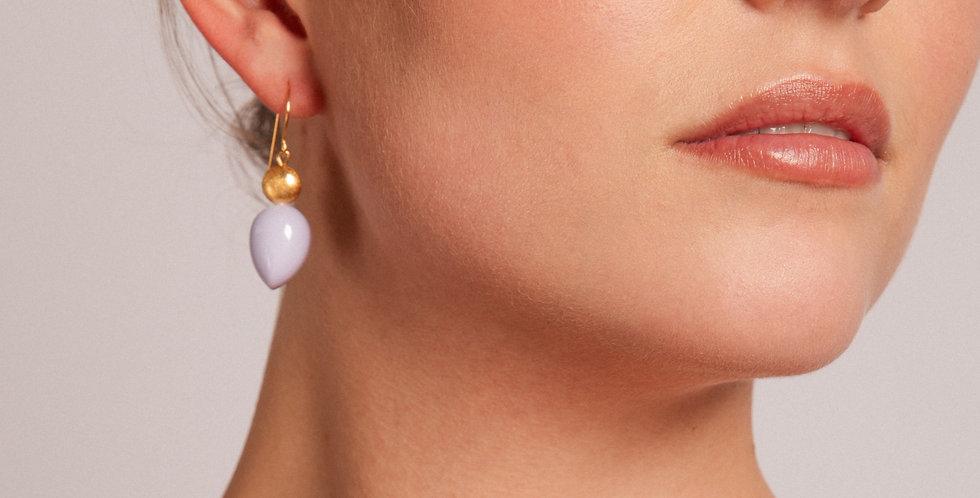 Mar earrings lila