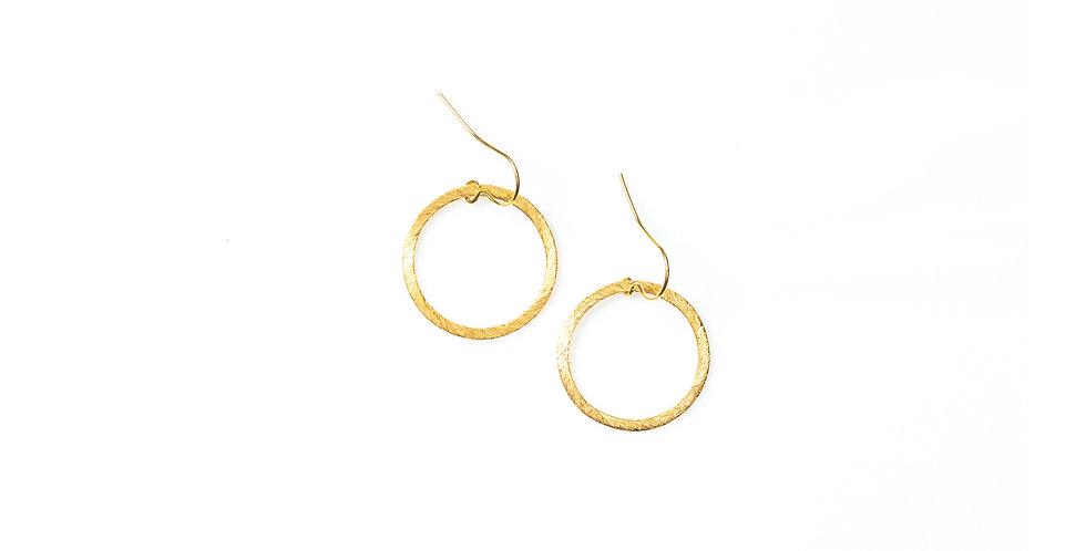 Linen earrings