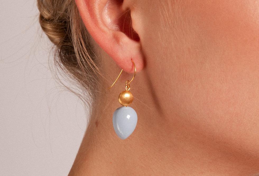 Mar earrings baby blue
