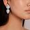 Thumbnail: Curvas earrings baby blue
