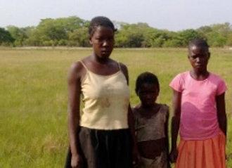 Sarah Mwananyambe, a 16 year old