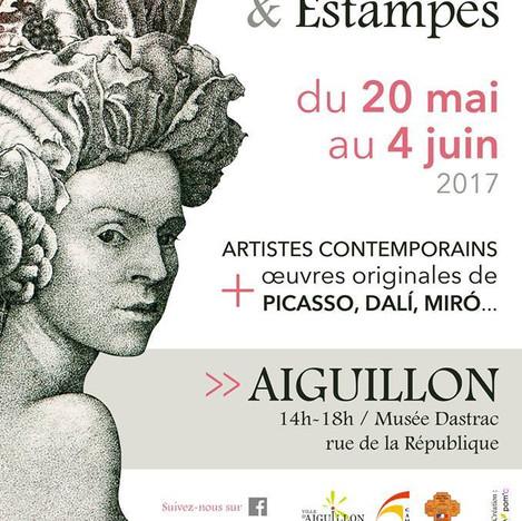 Exposition en compagnie de Miro, Dali, Kandinsky..