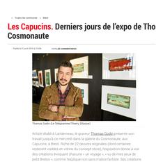 Capucins BREST, derniers jours de l'exposition de Thomas GODIN