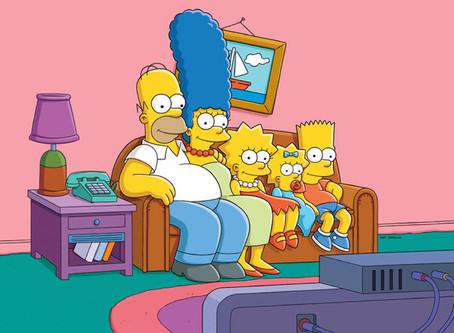 Como luciría la iconica sala de los Simpsons con algunos rediseños?