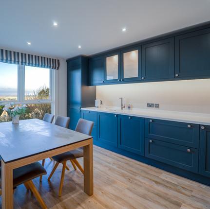 Nautical Blue Shaker kitchen