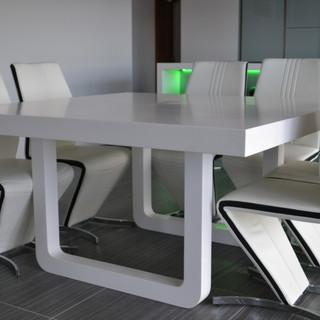 Custom Corian table