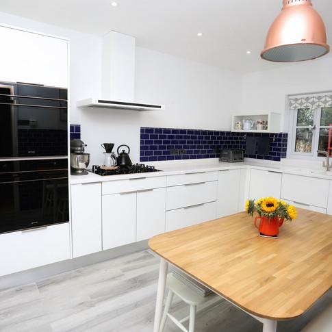 White Luxe kitchen