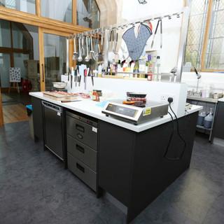 Commercial test kitchen