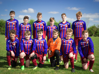 Under 14 Team on the Up