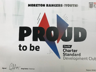 Club gets Charter Standard Award Again