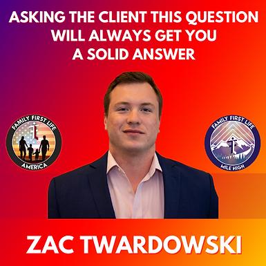 A Message For You From 3x Hall Of Fame Producer, Zac Twardowski