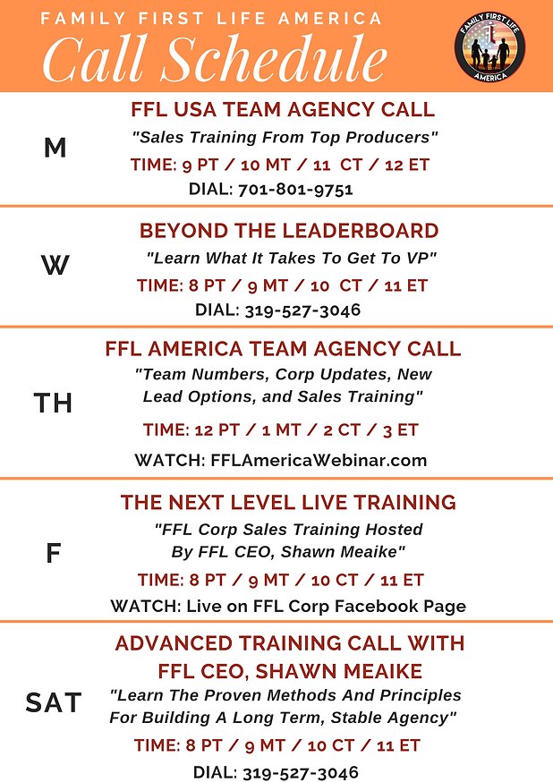 FFLAmerica Call Schedule.png