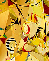 Playful Vibrant Photographic Abstraction Jo Antreasian