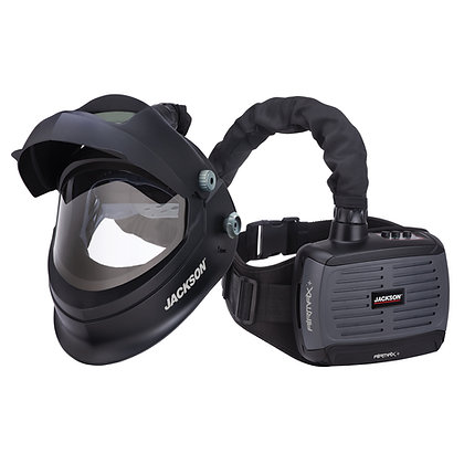 AIRMAX+ PAPR System with TRANSLIGHT FLIP 455 Welding Helmet