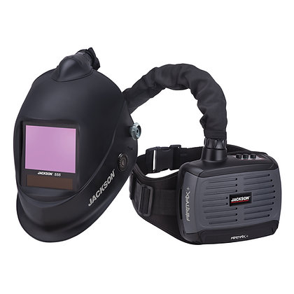 AIRMAX+ PAPR System with TRANSLIGHT+ 555 Welding Helmet