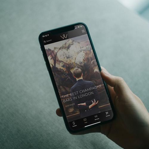 Wonder List App in use