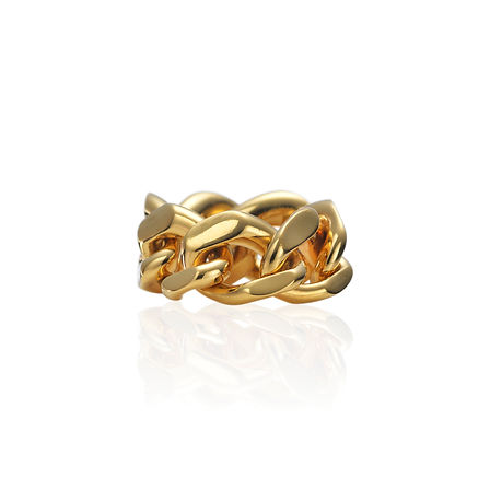 CHUNKY_LINKS_Silver_ring_plated_in_14K_y
