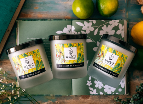 How to keep your candle smelling lovely and burning for longer