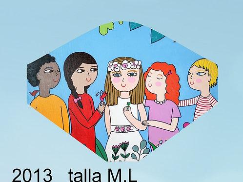 2013 Mascarilla Mis Mejores Amig@s