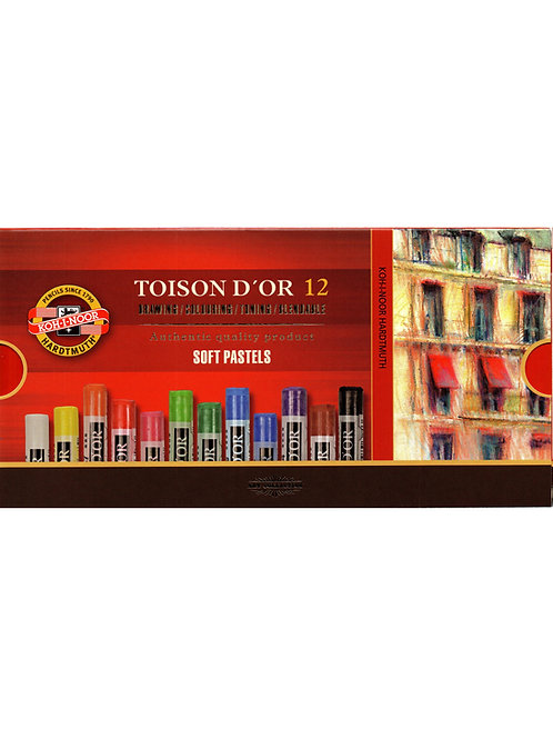 Koh-I-Noor - Toison D´or - Pasteles Suaves - 12 und.