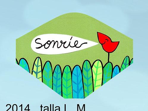 2014 Mascarilla Sonríe