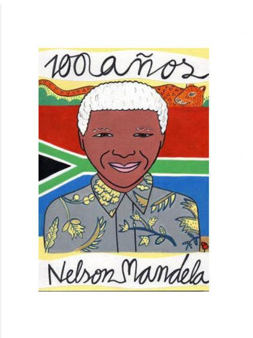 HOMENAJE A NELSON MANDELA POR SU CENTENARIO