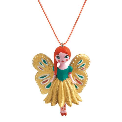 Djeco Collar Lovely Charms Mariposa