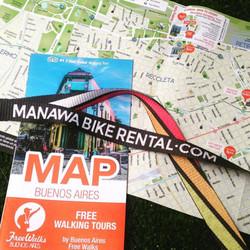 Manawa Bike Rental - mapas