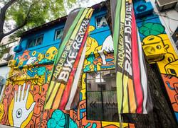 Manawa Bike Rental - graffiti