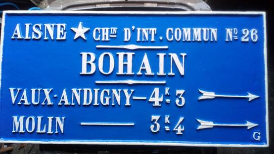 Bohain en Vermandois, restaurée en 2018