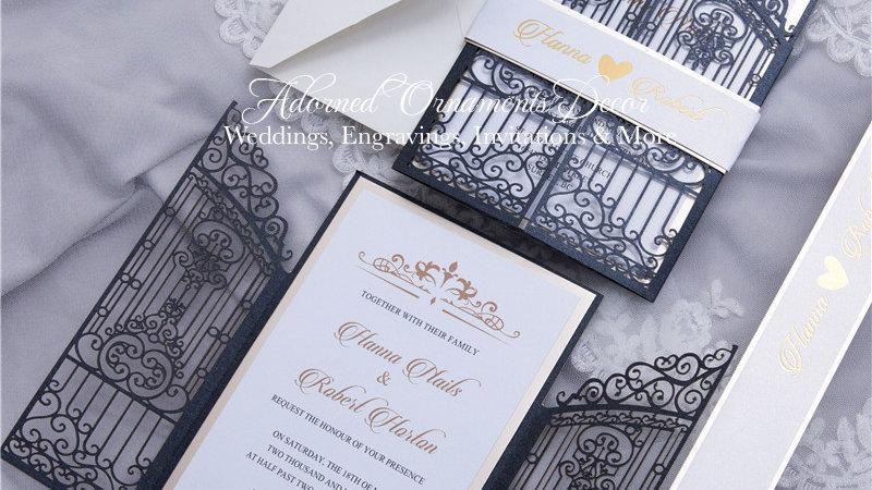 Royal Entrance Invitations (50 Count)
