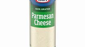 Kraft Grated Parmesan 3 Oz