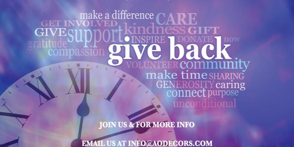Holiday Give Back & Friendsgiving Celebration