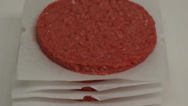 Frozen Angus Chuck Beef Burgers 1 lb box