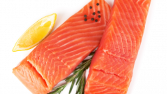 Fresh Atlantic Salmon Fillets, Chile, 3-4 lbs, farm raised