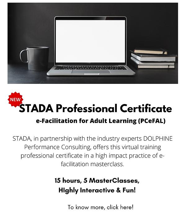 STADA Professional Certificate e-Facilit