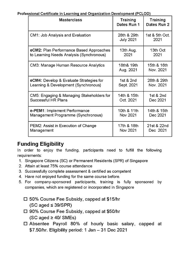 new SNEF-STADA Professional Certificate