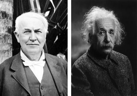 Edison and Einstein